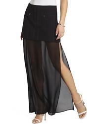 Bcbgmaxazria kendahl maxi skirt medium 208975