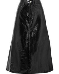 Beaufille Latona Vinyl Midi Skirt