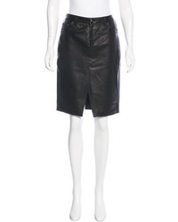 Rag & Bone Leather Pencil Skirt W Tags