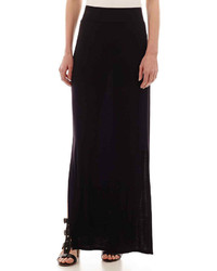 jcpenney Ana Ana Side Slit Maxi Skirt
