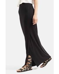 Topshop Slit Maxi Skirt