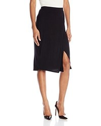 c54c16985 Helmut Lang Lateral Drape Pencil Skirt Out of stock · BCBGeneration Pull On Midi  Skirt With Slit