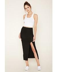 Forever 21 Side Slit Midi Skirt