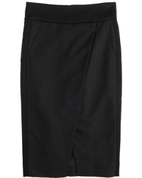 J.Crew Asymmetrical Crossover Pencil Skirt