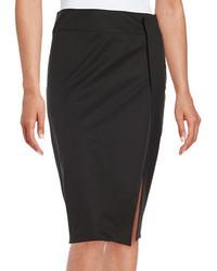DKNY Side Slit Pencil Skirt