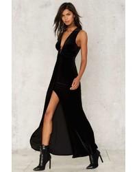 Just watch me slit dress medium 1128539