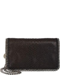 Black Snake Crossbody Bag