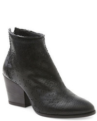 Andre Assous Fifi Snake Textured Ankle Boots