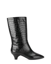 Marni Crocodile Effect Boots