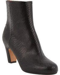 Maison Margiela Snake Stamped Ankle Boots