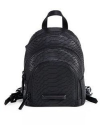 Sloane snake leather mini backpack medium 3725600