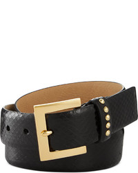 Vince Camuto Genuine Snake Belt