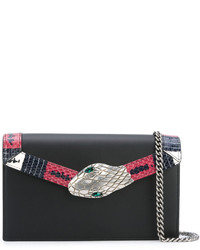 Gucci Snake Embellished Clutch