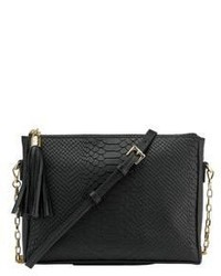 Hailey embossed python leather crossbody bag medium 3716970