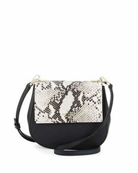 Kate Spade New York Cameron Street Byrdie Snake Crossbody Bag Black