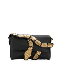 RED Valentino Red Snake Shoulder Bag