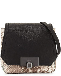 Westport Corporation Filmore Mini Embossed Leather Crossbody Bag Python