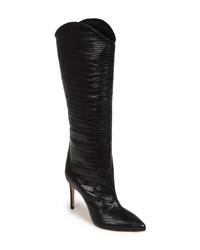 035e4c39bc7 Snake Leather Knee High Boots for Women | Women's Fashion ...