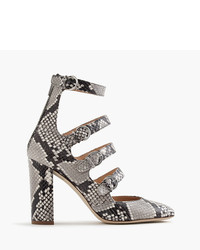 J.Crew Pumps In Snakeskin Printed Leather