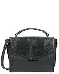 Danielle Nicole Snake Embossed Faux Leather Satchel
