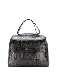 Orciani Embossed Effect Tote Bag