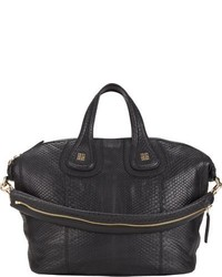 Givenchy Python Medium Nightingale Satchel