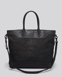 Ash Tote Smith Python Embossed
