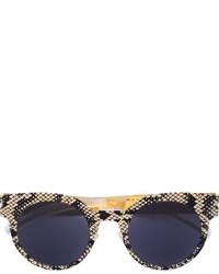 Mykita Snakeskin Effect Sunglasses