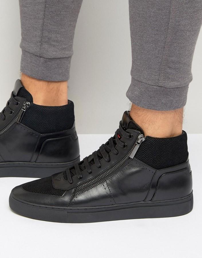 e2a87f6d9f5 ... Hugo Boss Boss Futurism Zip Sneakers ...