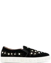 Aquazzura Cosmic Pearls Sneakers