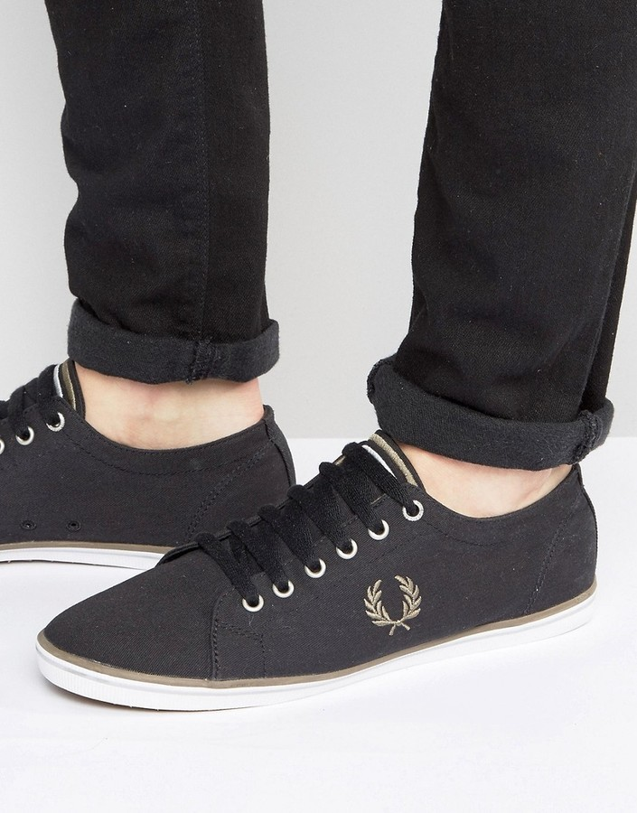 Fred Perry Kingston Twill Sneakers, $79