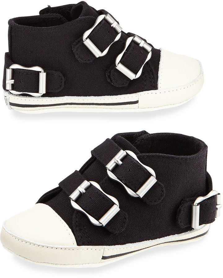 Ash Mini Canvas High Top Sneaker Infant