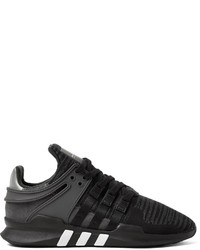 2c68846f216a ... adidas Originals Eqt Support Adv Rubber And Faux Suede Trimmed Mesh  Sneakers