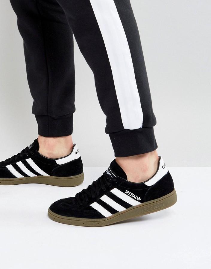 size 40 cbc2e c0bf6 ... adidas Originals Handball Spezial Sneakers In Black 551483 ...