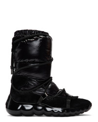 Moncler Black Cora Py Puffer Boots