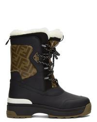 Fendi Black Ski Boots