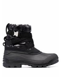 Moncler Clasp Buckle Strap Boots