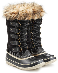 Sorel Joan Of Arctictall Boots With Faux Fur