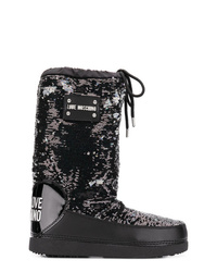 Love Moschino Sequin Snow Boots