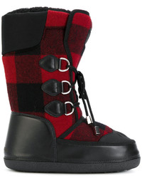 Ski checked snow boots medium 5143560