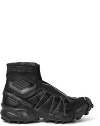 Salomon Slab Black Snowcross Trail Running Boots