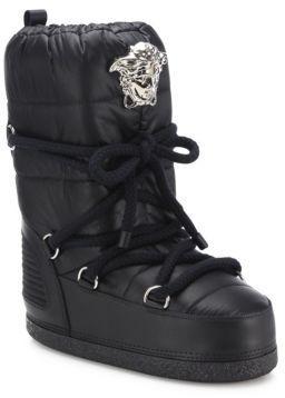Versace Snow Boots, $795   Saks Fifth