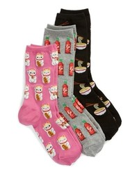 Hot Sox 3 Pack Ra Socks
