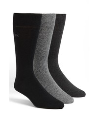 Calvin Klein Assorted 3 Pack Socks