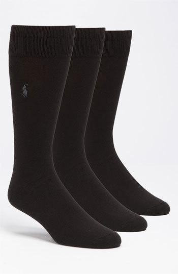 Polo Ralph Lauren Assorted 3 Pack Supersoft Socks