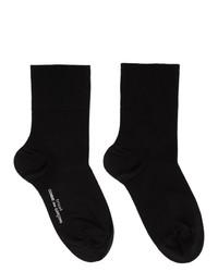 Tricot Comme des Garcons Black Ankle Socks