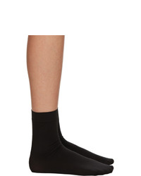 Wolford Black Aurora 70 Socks