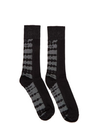 Issey Miyake Men Black Dyeing Socks