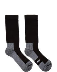 Rick Owens Black Hiking Socks