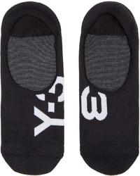 Y-3 Black Invisible Socks